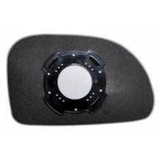 Элемент зеркала CHEVROLET Vivant 2005-н вр левый асферический без обогрева 16090501
