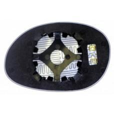 Элемент зеркала DODGE Neon I 1993-н вр правый сферический с обогревом 24209309