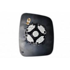 Элемент зеркала FIAT Fiorino 2008-н вр левый асферический с обогревом 27410806