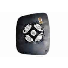 Элемент зеркала FIAT Fiorino 2008-н вр правый сферический с обогревом 27410809