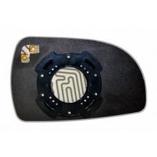 Элемент зеркала HYUNDAI Matrix 2001-н вр левый сферический с обогревом 39170208