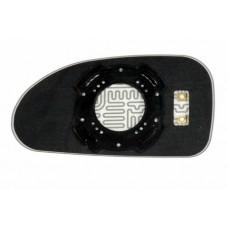 Элемент зеркала HYUNDAI Sonata V 2001-н вр правый сферический с обогревом 39300109