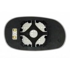 Элемент зеркала HYUNDAI Sonata II 1994-н вр левый сферический с обогревом 39309308