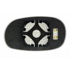 Элемент зеркала HYUNDAI Sonata II 1994-н вр правый сферический с обогревом 39309309