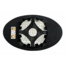 Элемент зеркала MINI Cooper I 2001-н вр левый сферический с обогревом 64330108