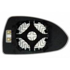 Элемент зеркала OPEL Corsa D 2006-н вр левый сферический с обогревом 70330608