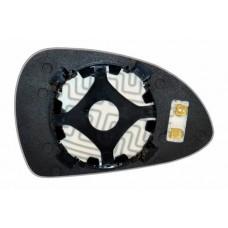 Элемент зеркала PORSCHE 911 2012-н вр левый сферический с обогревом 75911208