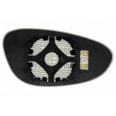 Элемент зеркала PORSCHE 911 1998-н вр левый сферический с обогревом 75919808