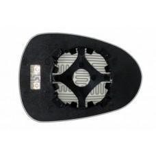 Элемент зеркала SEAT Ibiza IV 2008-н вр левый сферический с обогревом 83250808