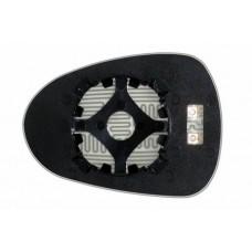 Элемент зеркала SEAT Ibiza IV 2008-н вр правый сферический с обогревом 83250809