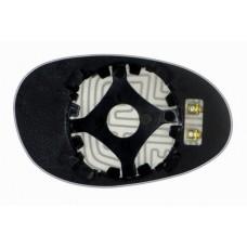 Элемент зеркала SMART Roadster 2003-н вр левый асферический с обогревом 85330306