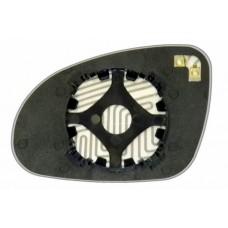 Элемент зеркала VOLKSWAGEN Passat B5 2001-н вр правый сферический с обогревом 93600109